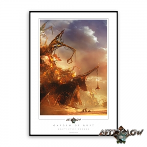 Garden of Rust - Art Print