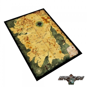 Alepin map 70x100 cm - cloth