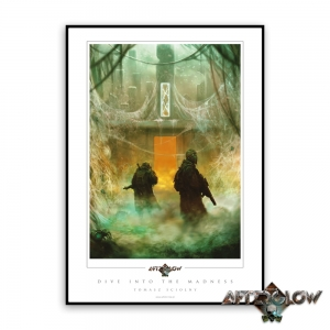 Dive Into Madness - Art Print (no frame)